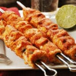 Spice Chicken Skewers Keto, Low Carb, Paleo