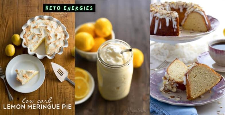 58 Best Keto Lemon Dessert Recipes Low Carb