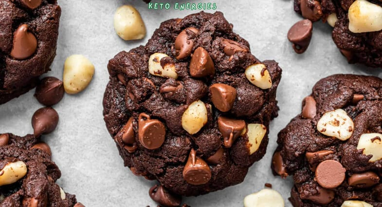Easy Chocolate Macadamia Nut Cookies Low Carb