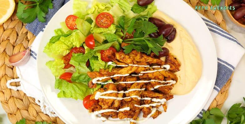 Easy Keto Chicken Shawarma Low Carb
