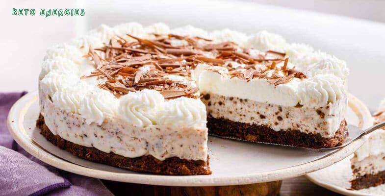 Easy Keto Ice Cream Cake Low Carb