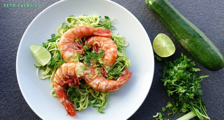 Easy Keto Shrimp Scampi Low Carb and Paleo