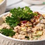 Easy Keto Tuna Salad Low Carb and Paleo