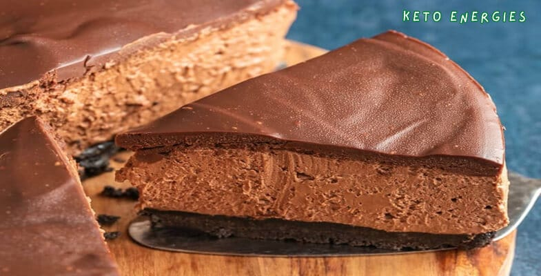 Keto Espresso Chocolate Cheesecake Bars