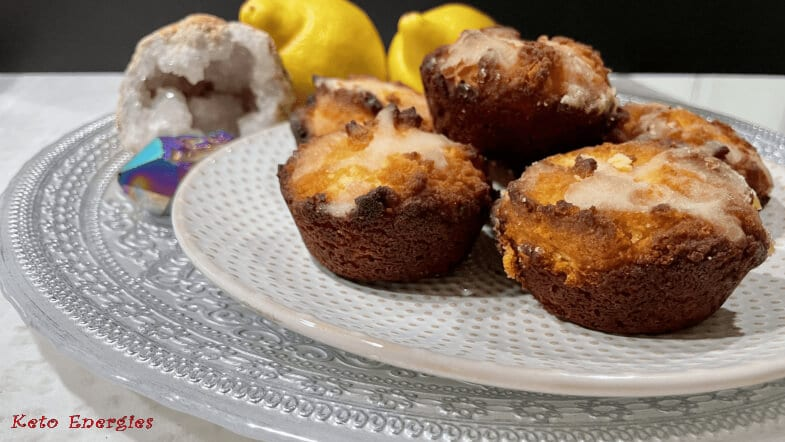 keto Lemon Sour Cream Muffins – Low Carb