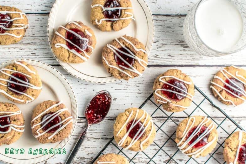 Keto Thumbprint Cookies Low Carb